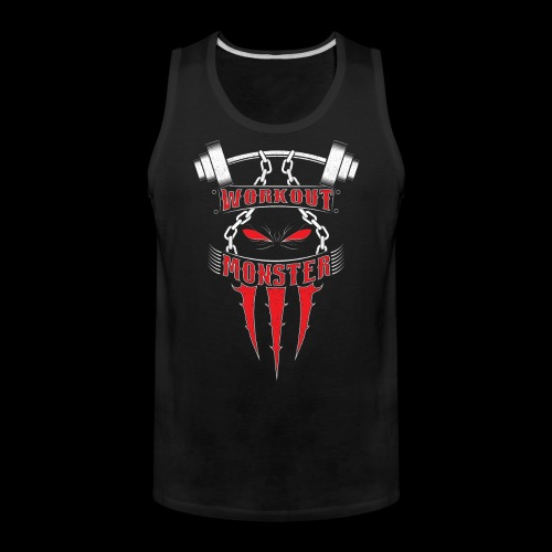 Workout Monster - Men's Premium Tank