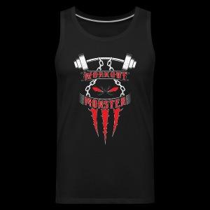 Workout Monster - Men's Premium Tank