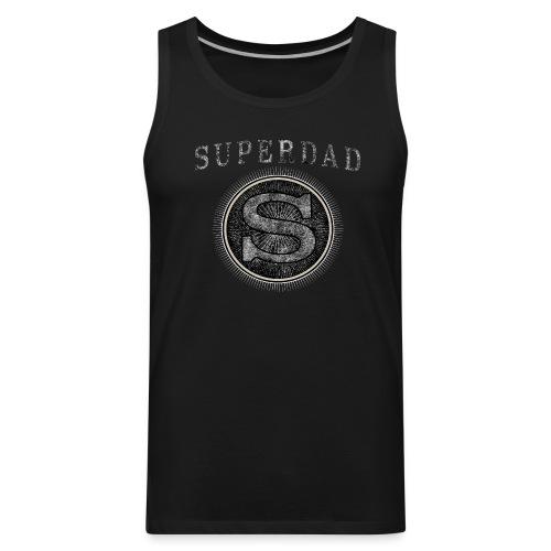 Father´s Day T-Shirt - Superdad - Men's Premium Tank