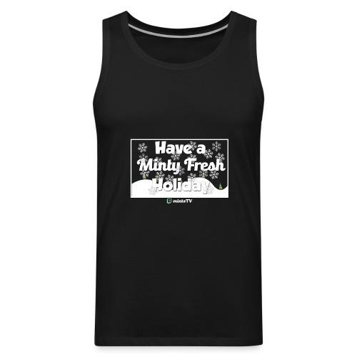 Minty Fresh Holidays - Men's Premium Tank