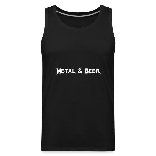 metalbeer_ok - Men's Premium Tank