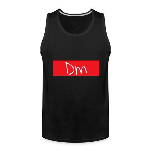 Dm Box Logo - Men's Premium Tank