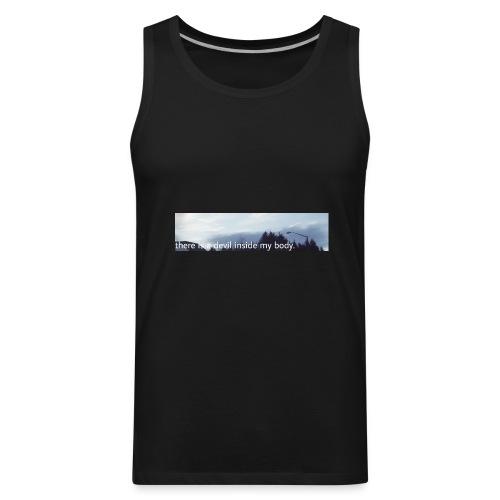 Sky Print - Men's Premium Tank