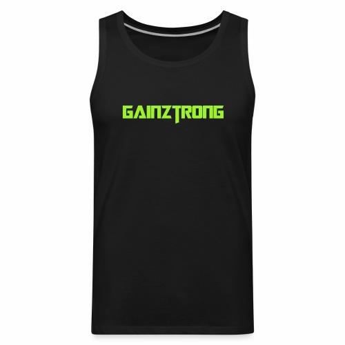 Gainztrong - Men's Premium Tank