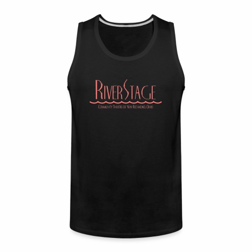 RiverStage Color Logo in Faded Red - Men's Premium Tank