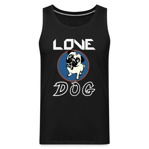 dog is love - Men's Premium Tank