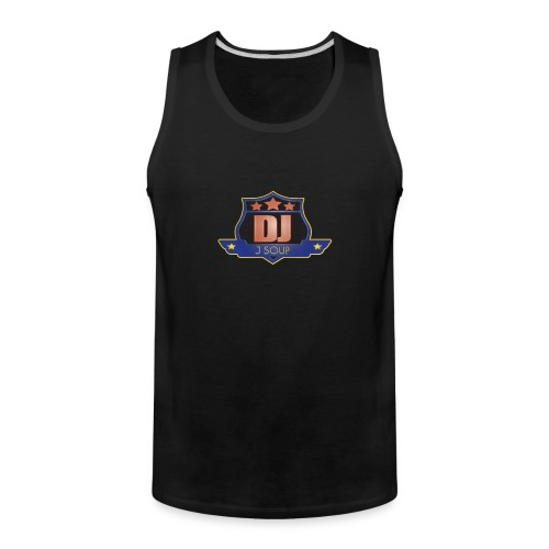 DJ_J_Soup_Blue - Men's Premium Tank