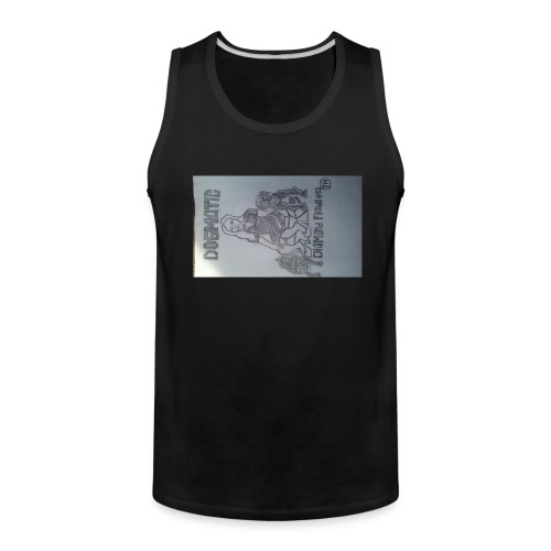 20160824_155409queen wear high profile staying 100 - Men's Premium Tank
