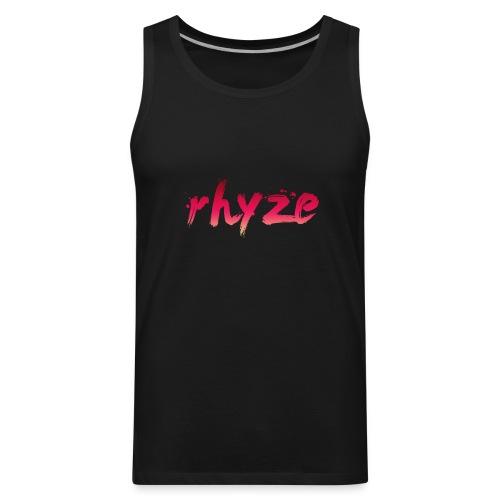 Rhyze Lettering - Men's Premium Tank