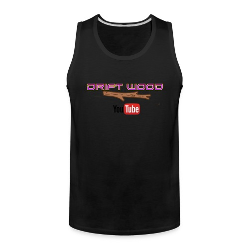 Drift Wood Official Merchandise WHITE - Men's Premium Tank
