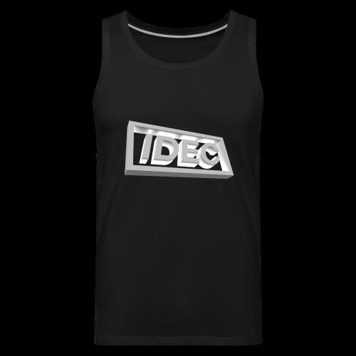 3D IDEC Logo - Men's Premium Tank