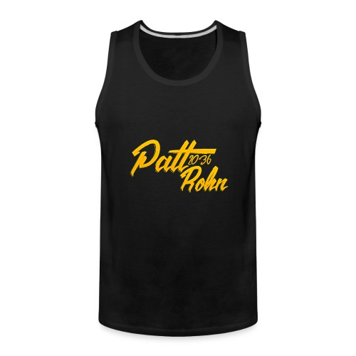 Patt Rohn 2036 Golden - Men's Premium Tank