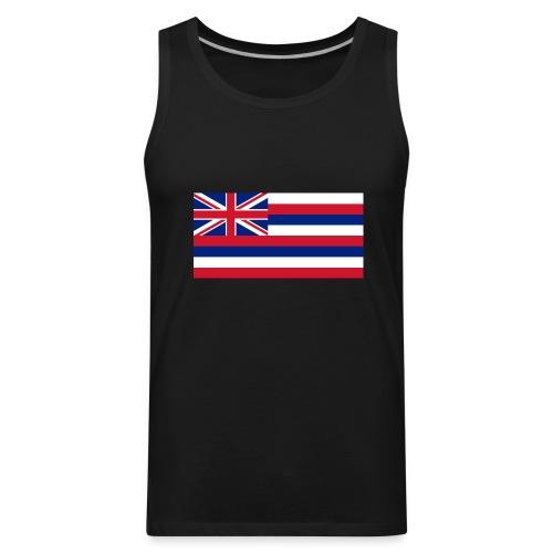 Hawaiian Flag - Men's Premium Tank