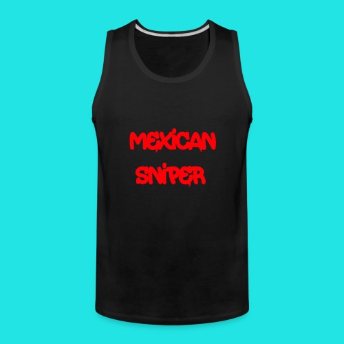 Mexican Sniper Graffiti - Men's Premium Tank
