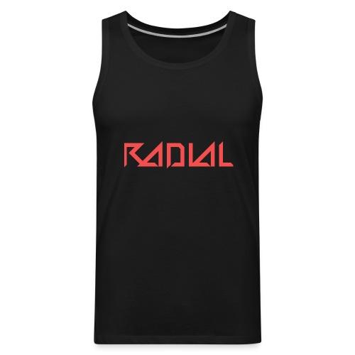 Radial_Shirt_Logo2 - Men's Premium Tank