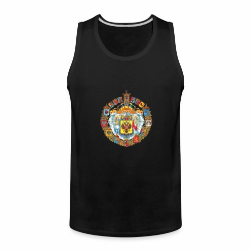 800px Greater coat of arms of the Russian empire - Men's Premium Tank