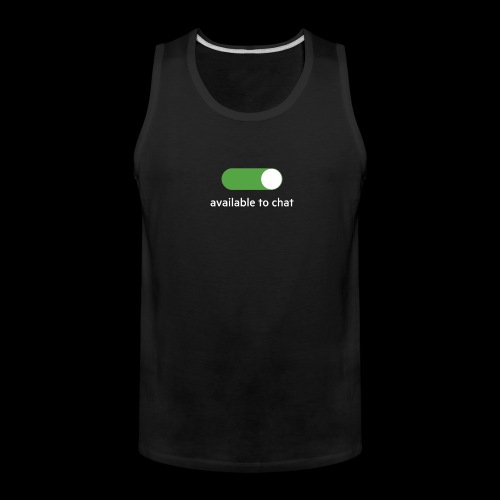 Available to chat Icon Printed Collection - Men's Premium Tank