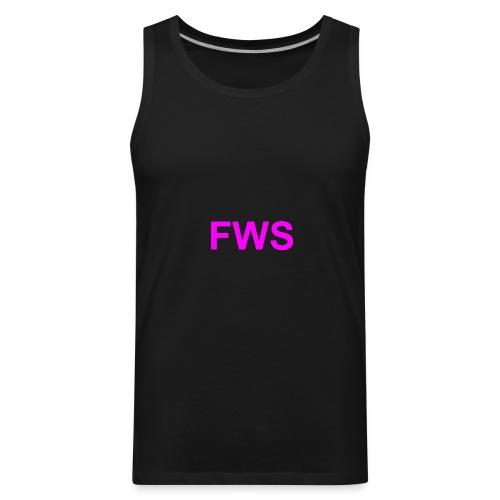 FWS magenta - Men's Premium Tank