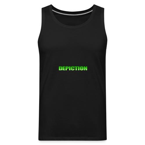 Depiction Impact [GREEN] - Men's Premium Tank