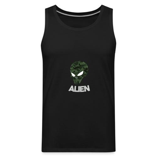 Military Alien - Men's Premium Tank