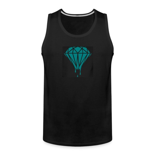 Dripping Diamonds - Men's Premium Tank