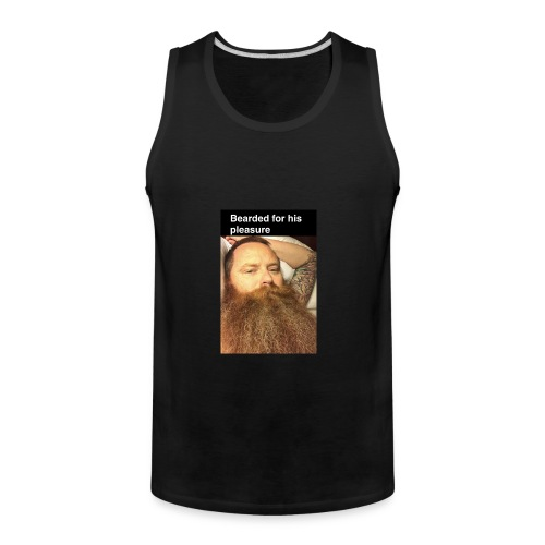 Sexy bearded man - Men's Premium Tank