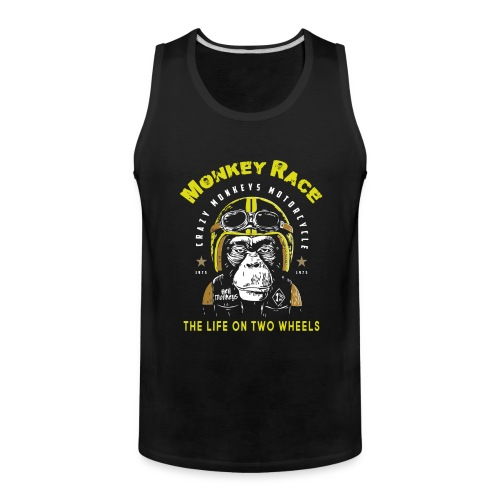 MONKEY RACE - Men's Premium Tank
