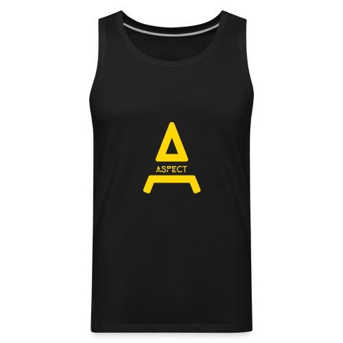 Limited Edition Gold Aspect Logo Sweatshirt - Men's Premium Tank