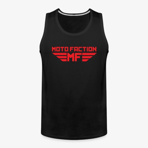 MotoFaction Logo - Men's Premium Tank