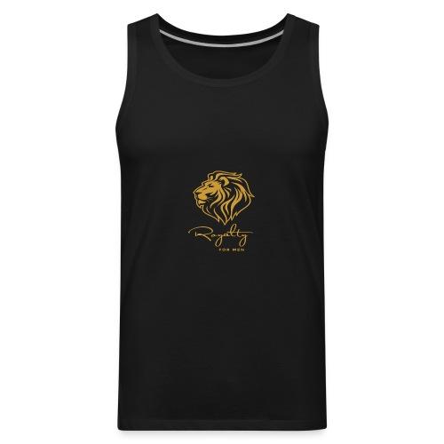 Royalty_For_Men_Logo - Men's Premium Tank