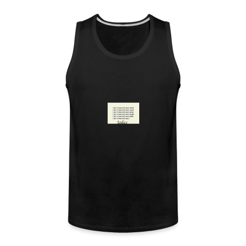 Love with you - Men's Premium Tank