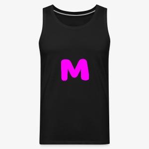 Pink m - Men's Premium Tank