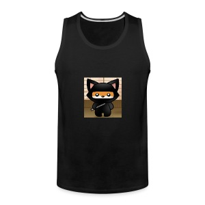 how-to-draw-a-ninja-fox_1_000000018972_5 - Men's Premium Tank