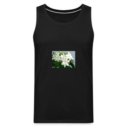 Jasmine Flower - Men's Premium Tank