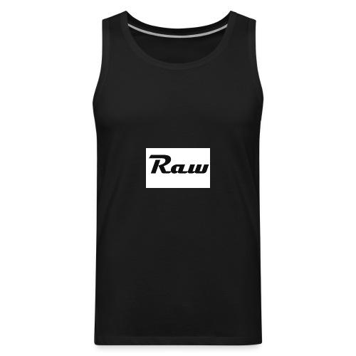 raw - Men's Premium Tank