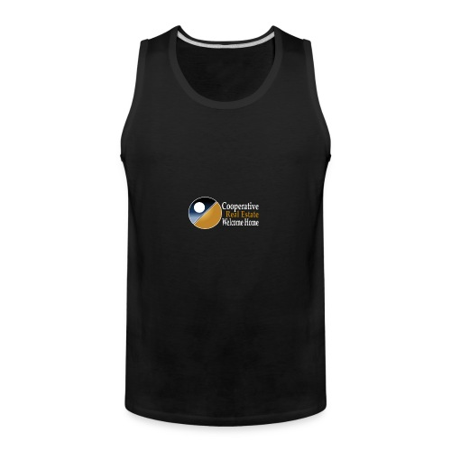 00044_Logo_horizontal_for_dark_backgrounds_-1- - Men's Premium Tank
