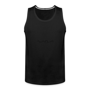Waveforms_-1- - Men's Premium Tank