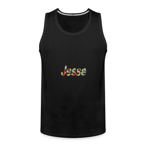 jesse no bg - Men's Premium Tank