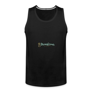 Dreambitious-Dynasty-Logo-MintGold_-1- - Men's Premium Tank
