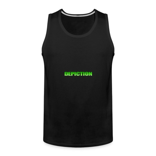 Depiction Impact [GREEN] - Men's Premium Tank