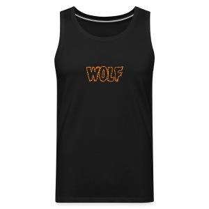 wolf - Men's Premium Tank