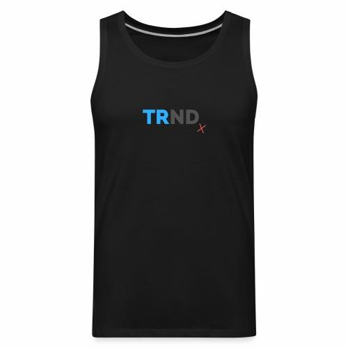T R N D x Large Print - Men's Premium Tank