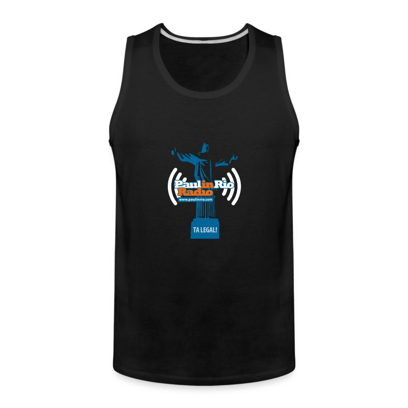 Paul in Rio Radio - The Thumbs up Corcovado #2 - Men's Premium Tank