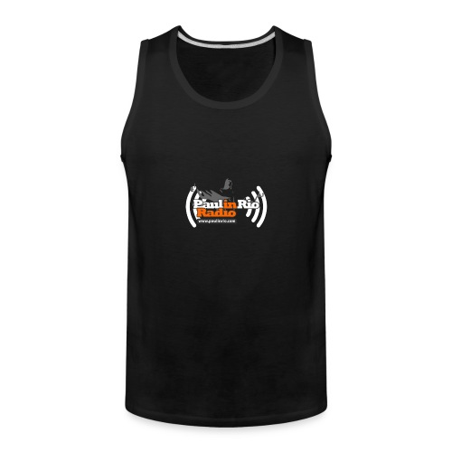 Paul in Rio Radio - Thumbs-up Corcovado #1 - Men's Premium Tank