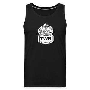 TWR (white crown) - Men's Premium Tank