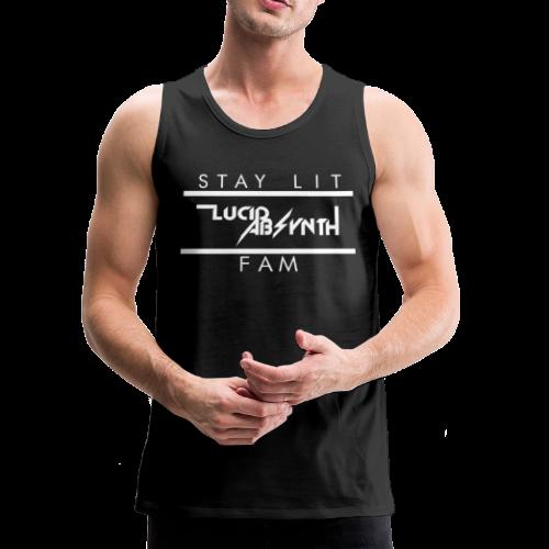 STAY LIT FAM - Men's Premium Tank