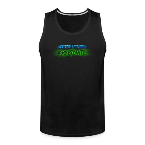 Karbs Are My Kryptonite - Men's Premium Tank