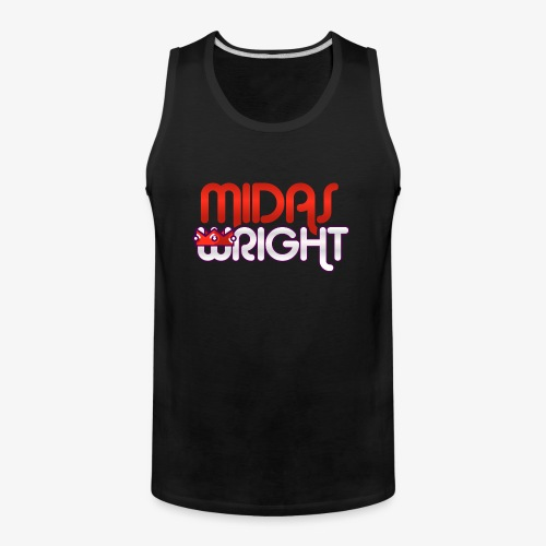 Midas Wright Official Logo - Men's Premium Tank