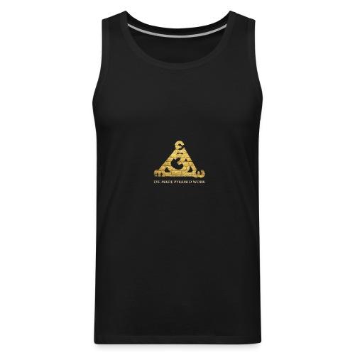 Eye Made Pyramid Work - Men's Premium Tank