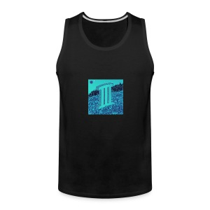 Currensy PilotTalk3 Artwork - Men's Premium Tank